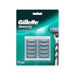 Gillette Mach 3 Big Blade Pack 10 Blades