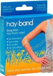 natural hayfever remedy, armband, naturl hayfever treatment, acupuncture