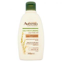 Aveeno Daily Moisturising Yogurt Body Wash – Vanilla & Oat Scented 300ml
