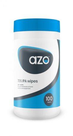 Azowipe 70% IPA Disinfectant Wipes 100pk