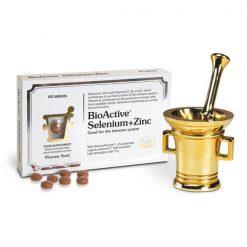 Pharma Nord BioActive Selenium + Zinc 60 Tablets