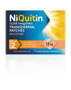 Niquitin Clear 14mg Step 2