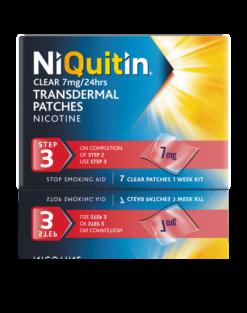 Niquitin clear patch step 3