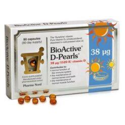 Pharma Nord Bio-Vitamin D3 D Pearls Capsules 80